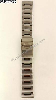 $ CDN103.83 • Buy Seiko Monster Black PVD Stainless Steel Watch Band 22mm 4R36-03L0, 4R36-02T0,
