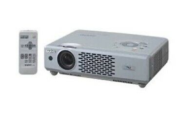 £99.95 • Buy Sanyo PLC-XU47 PRO XtraX Multiverse LCD Projector With Remote Control