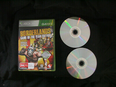 AU9.75 • Buy Xbox 360 Game - Borderlands Game Of The Year Edition