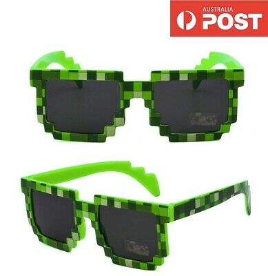 AU12.99 • Buy Minecraft Green Sunglasses Kids Gift