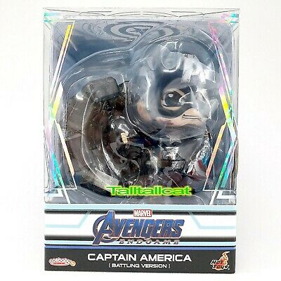 $ CDN37.01 • Buy Marvel Hot Toys Avengers END GAME Captain America ( Battling Ver. ) Cosbaby