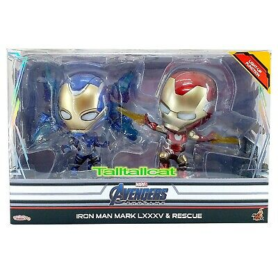 $ CDN51.56 • Buy Marvel Hot Toys Avengers END GAME Iron Man MK85 & Rescue Cosbaby Collectible Set