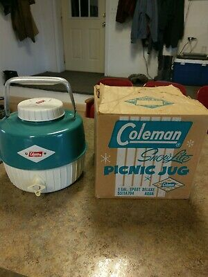 $31 • Buy Vintage Coleman Water Jug
