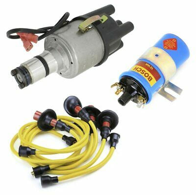 $169.95 • Buy Vw Bug Ignition Kit W/Empi 9441 Electronic 009 Dist, Bosch Coil, Yellow Wires