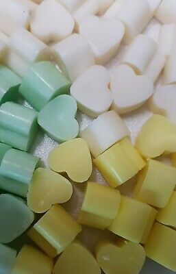 50 Highly Scented Mini Heart Wax Melts Dupe Type Aftershave/perfume Inspired • 2.95£
