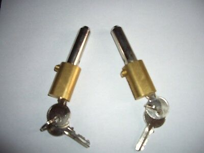 £12.85 • Buy ROLLER SHUTTER BULLET LOCKS OVAL  KEYED To Differ High Security 6 Pin Anti Drill