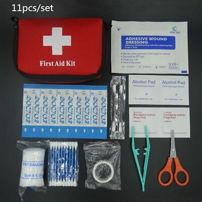 $ CDN6.86 • Buy For Zip Stitch First Aid Kit Medical Survival Bag Home Emergency Free Shipping