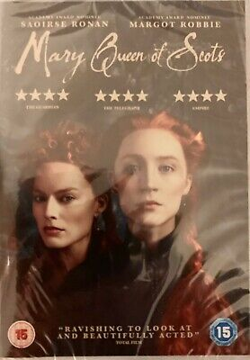 Mary Queen Of Scots Saoirse Ronan New Sealed DVD • 6.39£