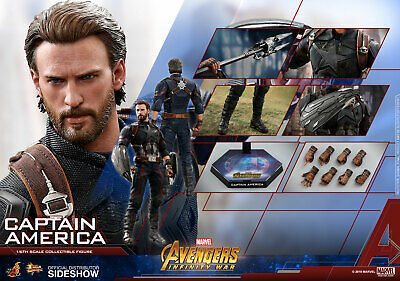 $ CDN429.59 • Buy Marvel Captain America Collector Edit Action Figure 1/6 Hot Toys Sideshow