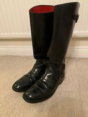 Vintage British Motorcycle Police Boots • 89£