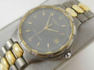 $ CDN250 • Buy LONGINES CONQUEST V.H.P. TITANIUM Ref. 4026 Cal. L174.4 Swiss Vintage Watch