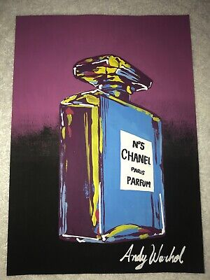 $25 • Buy Drawing Of Andy Warhol Chanel 5