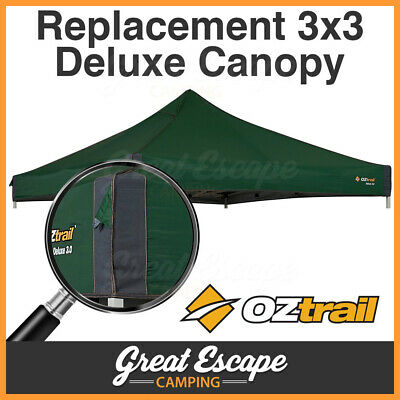 AU109 • Buy OZtrail Deluxe Gazebo Canopy 3.0 Green 3 X 3  Replacement Top Gazebo Roof