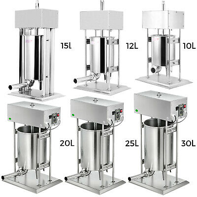 AU665.99 • Buy 10-30L Sausage Filler Stuffer Maker Commercial 304 Stainless Steel Meat Machine