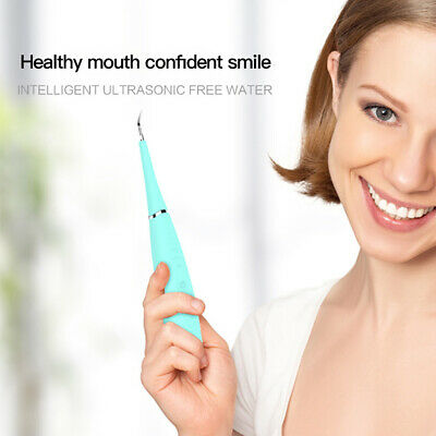 $17.49 • Buy Electric Tooth Cleaner Ultrasonic Oral Irrigator Teeth Stain Dental Cleaning Kit