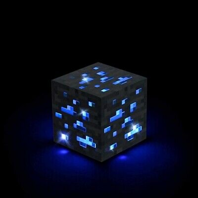 AU27 • Buy Minecraft Light-up Diamond Ore Interactive Block