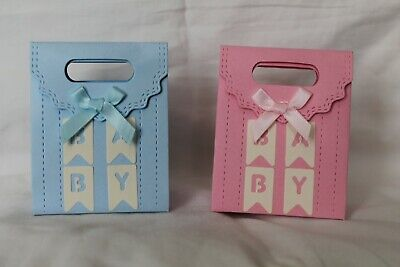 10 X Baby Shower Gift / Favour Boxes - Baby Shower / Christening • 2.75£