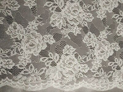 Orla Lace Pattern Charcoal Grey PVC Vinyl Wipe Clean Oilcloth Tablecloth • 6.99£