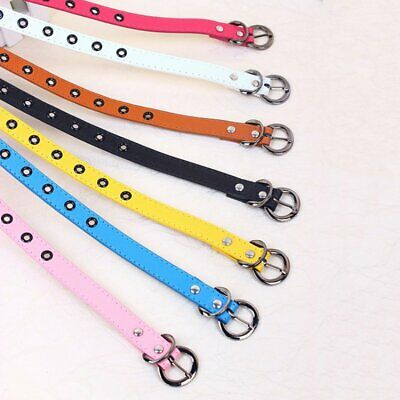$6.99 • Buy  Toddler Kid PU Leather Waistband Adjustable Buckle Belts Strap Multi-Color.