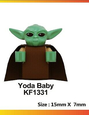 $8 • Buy Baby Yoda Lego-Compatible Figure. Ships From USA