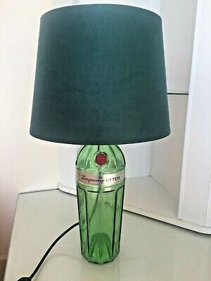 Tanqueray No 10 Gin Upcycled Bottle Table Lamp • 25.95£