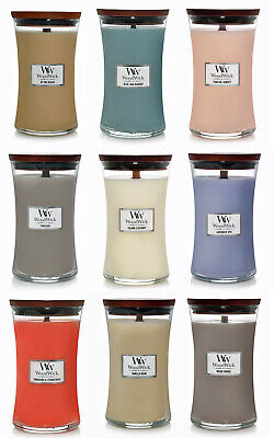 $31.55 • Buy WoodWick Large Hourglass  21.5 Oz Scented Jar Candle ~ Select Your Favorite(s)