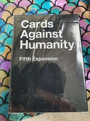 AU14.95 • Buy CARDS AGAINST HUMANITY Fifth Expansion - NEW - Sealed