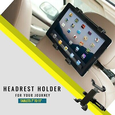 £5.99 • Buy Universal Headrest Car Seat Holder Mount For Tablets 7  To 11  Ipad Air Kindle