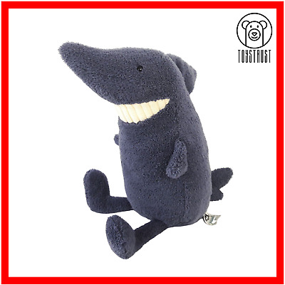 JellyCat Shark Soft Toy Toothy Blue Stuffed Plush Figure Branded Fish Character  • 19.99£