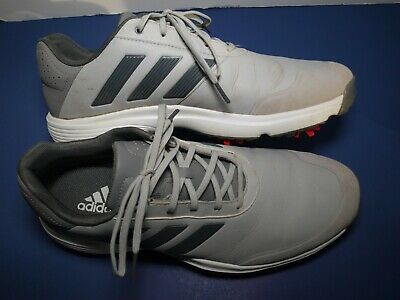 $24.99 • Buy Adidas Adipower Bounce Golf Shoes Gray US Size 10 Very Nice!