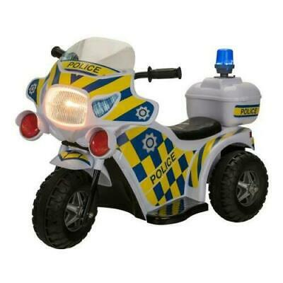 Ride On Motorbike Police Bike Ride-On Electric Motorcycle Kids 6V Battery Toy • 57.99£