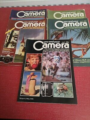 YOU AND YOUR CAMERA Magazine #1#2#3#4#6  • 3£