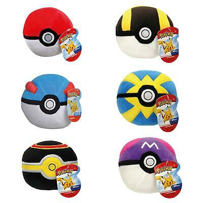Pokemon Poke Ball Soft Plush Toy Collection - Choose Your Favourite Ball! • 7.99£