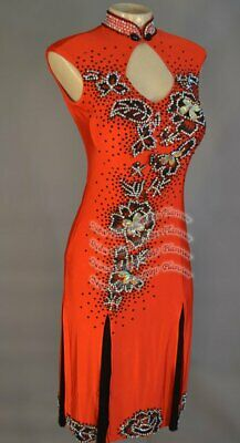 £324.49 • Buy L2083 Women Competition Specialty Latin/Rhythm Rumba Dress UK 10 US 8 Red