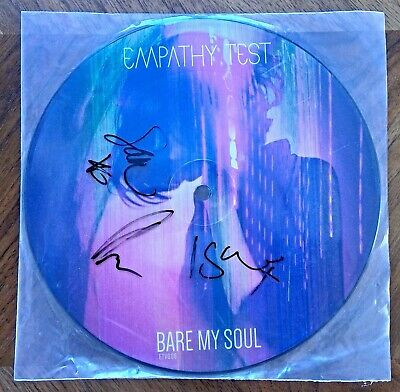 Empathy Test - SIGNED Bare My Soul / Walk Right Out Picture Disc Vinyl Single • 0.99£