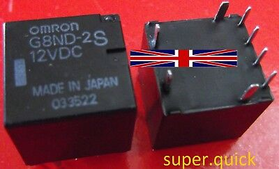 £4.27 • Buy G8ND-2S 12V Original Relay From Omron (G8ND-2UK Replacement)