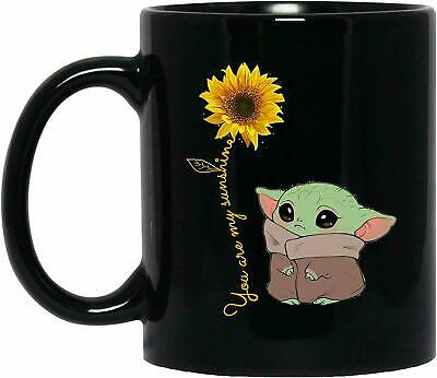 $8.99 • Buy Cute Baby Yoda You Are My Sunshine Funny Gift For Birthday Coffee Mug 11oz