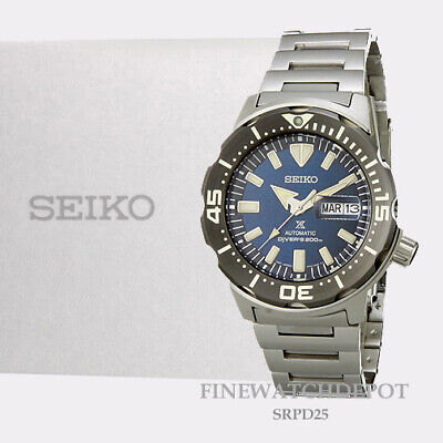 $ CDN399.46 • Buy Authentic Seiko Prospex Automatic Diver Manual & Automatic Winding Watch SRPD25