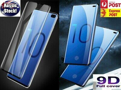 AU6.05 • Buy Samsung Galaxy S20 Ultra S20+ Note 10 9 8 S10 5G Tempered Glass Screen Protector