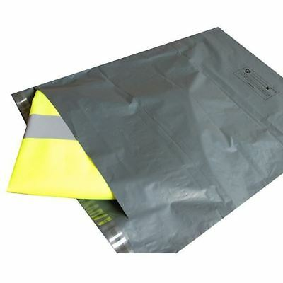 £3.55 • Buy 50 MAILING BAGS GREY PARCEL PACKAGING 12 X 16 And 10 X 14 Cheapest By Far!