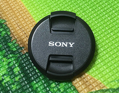 AU7.95 • Buy NEW Design Sony Center Pinch Snap On Lens Cap Cover 62mm For Sony SLR Camera