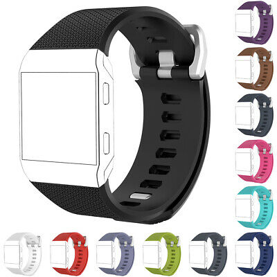 $ CDN4.79 • Buy Lightweight Sport Silicone Wrist Bracelet Band Strap For Fitbit Ionic Fashion