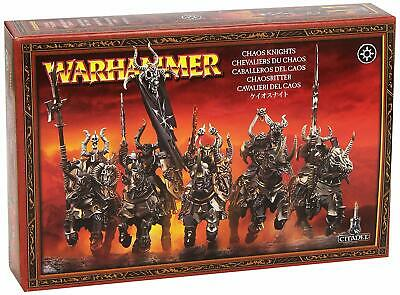£25 • Buy Warhammer - Chaos Knight - Box With 5 Miniatures New