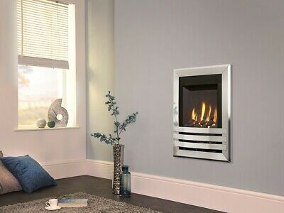 £485 • Buy Open Fronted Contemporary Wall Mounted Gas Fire With 7 Years Warranty