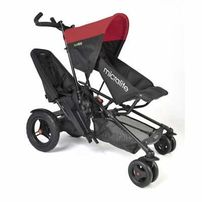 Micralite TwoFold Pushchair – Red (excludes Second Seat) • 449£