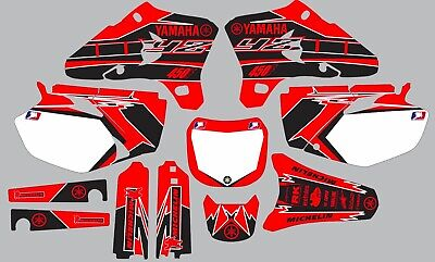 $95 • Buy Red And Black YAMAHA GRAPHICS  YZ 450F YZ450F 2003 2004 2005