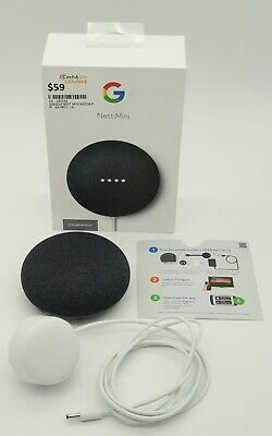 AU59 • Buy Google Nest Mini (2nd Generation) Smart Speaker Charcoal -cgl3030