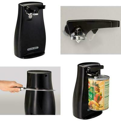 $ CDN32.42 • Buy Power Electric Automatic Can Opener With Knife Sharpener Black, Proctor Silex