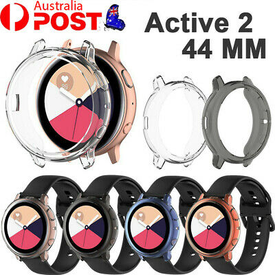 AU6.99 • Buy Silicone TPU Protector Bumper Shell Case For Samsung Galaxy Watch Active 2 44mm