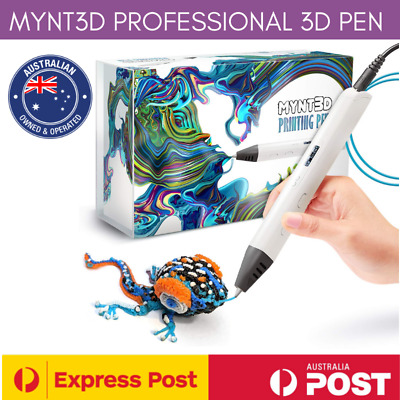AU179.95 • Buy MYNT3D Professional Printing 3D Pen With OLED Display - Brand New